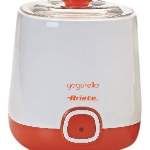 Ariete-621-Yogurtera-20-W-Recipiente-de-1-l-color-blanco-y-naranja-0